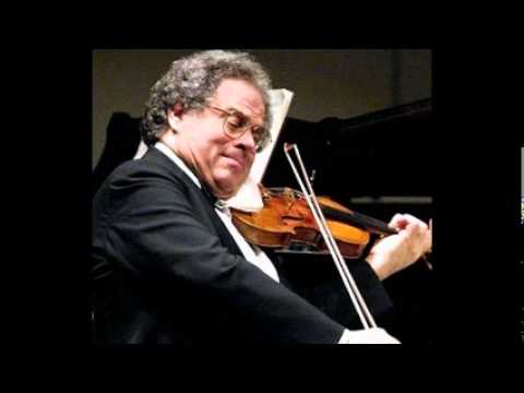 Itzhak Perlman Bach Violin Sonata No.1 BWV 1001.wmv Music Videos