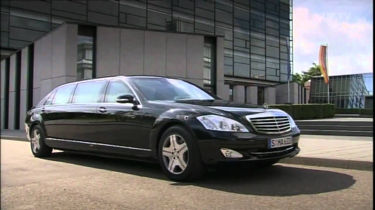 Mercedes benz s600 w221 guard youtube for Mercedes benz guard for sale