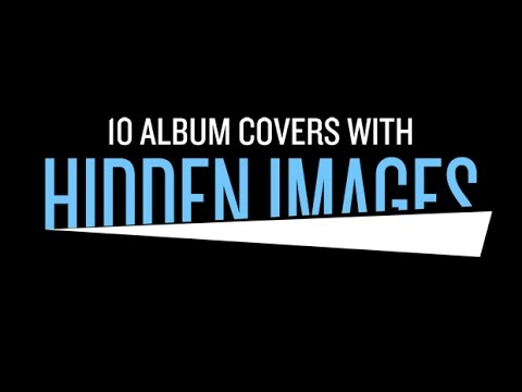 10 Album Covers with Secret Hidden Images