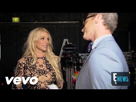 "Britney Spears Interview for E! News in the Backstage of ""Make Me (Ooh)"""