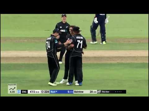 Home Summer Highlights - Colin de Grandhomme Classic Catch v England 2018