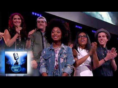 Top 12 Live - All Performances - No Judging! - American Idol XIII 2014: Season 13