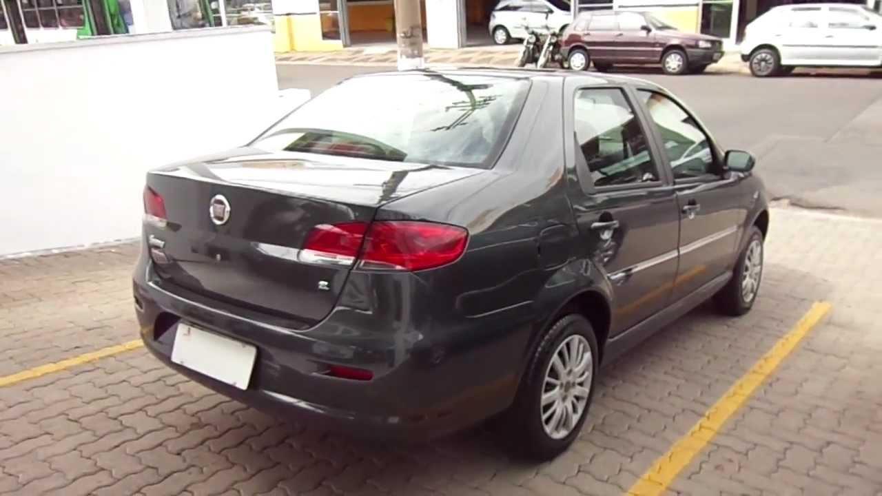 Fiat Siena El 1 0 8v Flex 4p 2010 Youtube