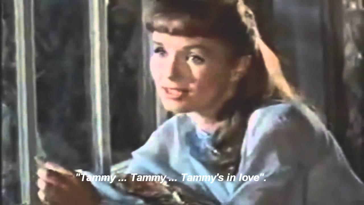 Young Debbie Reynolds Tammy Debbie Reynolds