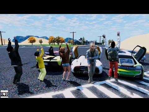 GTA 5 CLINTON KIDS REAL LIFE MOD #10 ROAD TRIP!