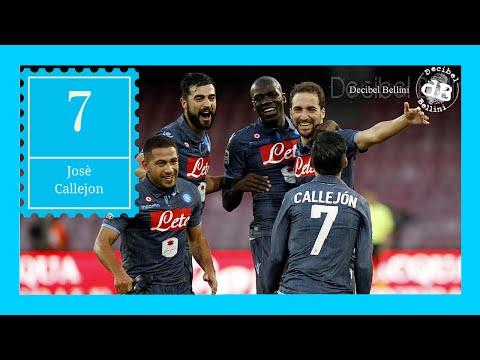 Mammamia goal Josè Callejon 2-0 Napoli Roma Serie A annuncio Stadio San Paolo