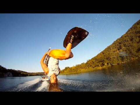 GoPro Lake Austin Wakeboarding with Jarrett and J.B.