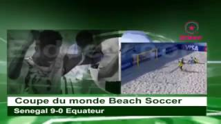 Mondial Beach Soccer 2017 | Senegal 9-0 Equateur