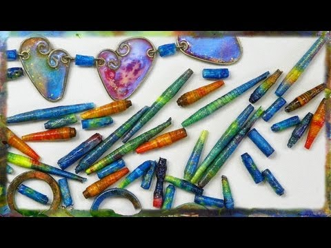 How to Create Paper Beads