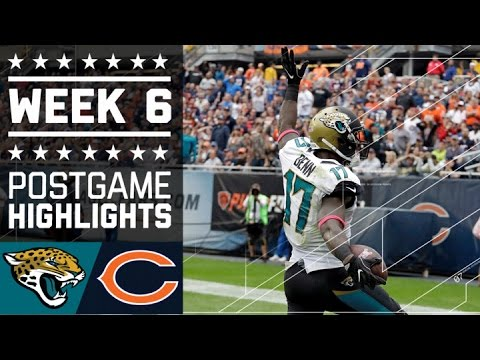 Jaguars Vs Bears Nfl Week 6 Game Highlights
