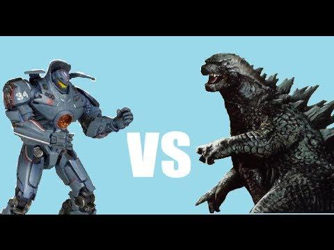 GODZILLA 2014 VS GIPSY...