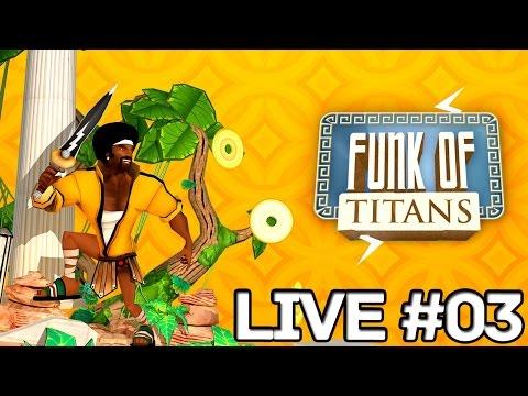 Live #03 -  Uptown Funk of Titans - PT-BR/ENG - 29/07/2015