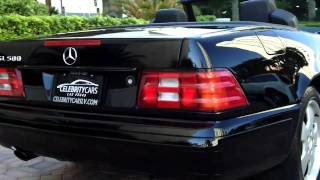1999 Mercedes-Benz SL-Class SL500 Convertible==For sale at Celebrity Cars