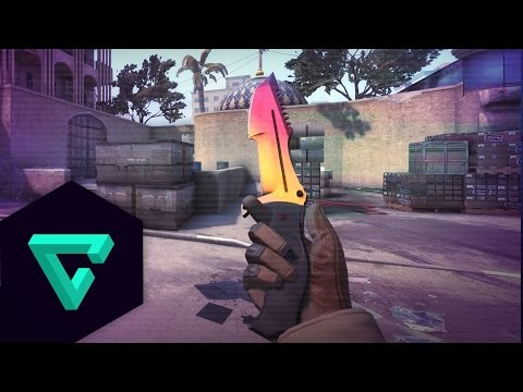Huntsman Knife cs go Fade Huntsman Knife Fade