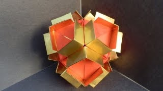 How To Make A Modular Origami (martin Sejer Andersen)