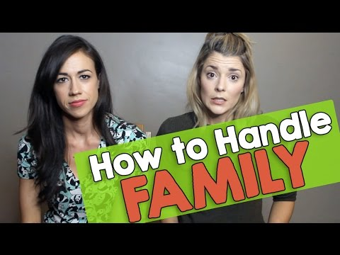 HOW TO HANDLE FAMILY w/ COLLEEN BALLINGER (EVANS) // Grace Helbig
