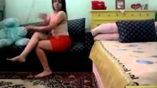 احلي رقص منزلي مزة مصريه واغراء مثير جدا   YouTube