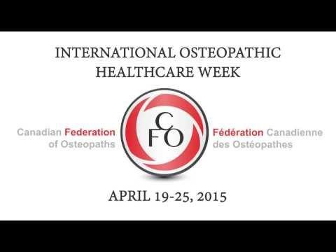International Osteopathic Healthcare Week 2015