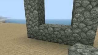 Minecraft 1.8 jak sestavit portál do Neteru