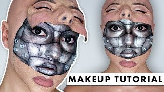 HALF MACHINE HALF HUMAN - SFX Makeup Tutorial