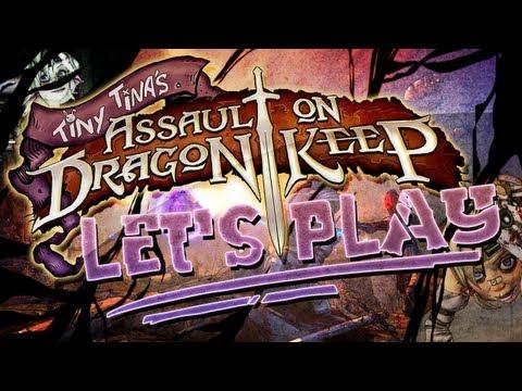 BORDERLANDS 2   Tiny Tina's Assault on Dragons Keep: Lets Play Part 1