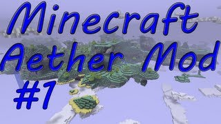 Minecraft 1.2.5/ Aether Pre-Release 1.9: Part 1 Stupid Silver Dungeons