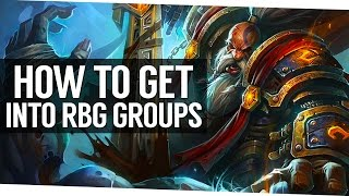 How To Get Invited to Rated Battleground Groups - World of Warcraft Legion