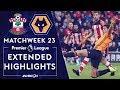 Southampton v. Wolves   PREMIER LEAGUE HIGHLIGHTS   1/18/2020   NBC Sports