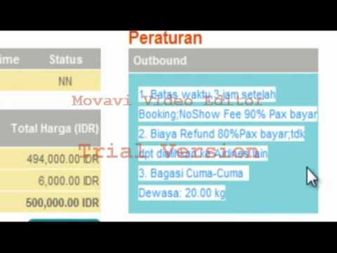 Cara Booking Tiket Merpati.avi