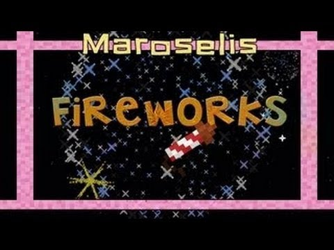 Minecraft Tutorial: How to make craft the best fireworks