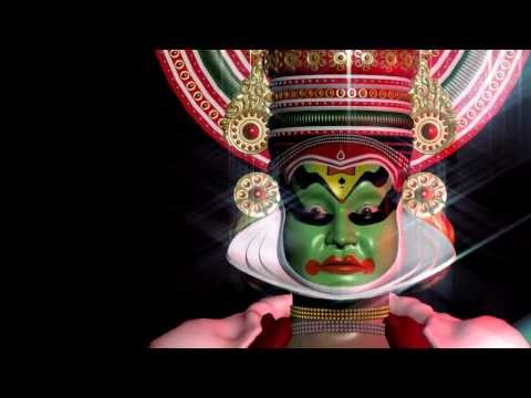 Kathakali Facial Expressions - Animated 3d video