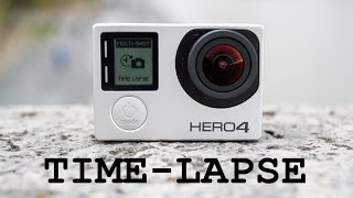 GoPro Timelapse Tutorial: Hero 4 Silver Edition