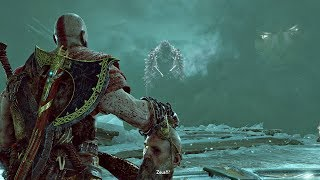 God of War 4 - Kratos Meets Zeus In Hel (God of War 2018) PS4 Pro