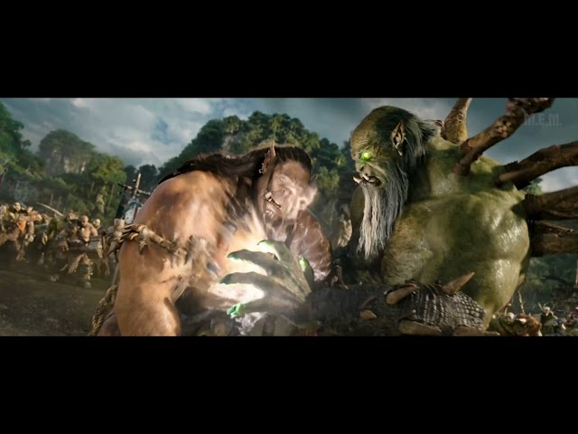 Warcraft (2016) -  Gul'dan vs Durotan: Mak'gora [4K] thumbnail