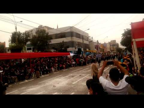 Desfile 2017 Mariscal Toribio de Luzuriaga Ate - Salamanca