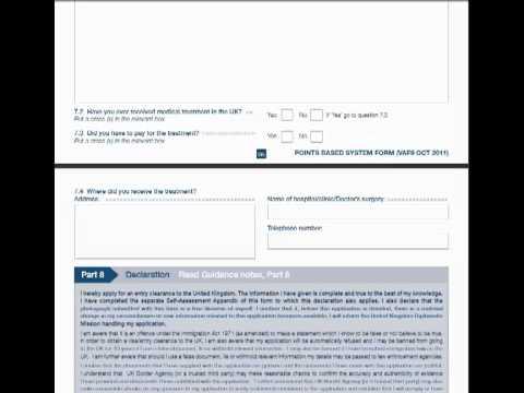 india uk form visa application