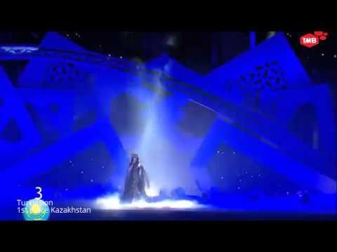 Eurovision vs Turkvision 2014, Conchita Wurst(Austria) vs Zhanar Dugalova(Kazakhstan)