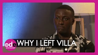 Sherif Lanre reveals the real reason he left the Love Island villa