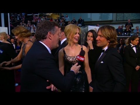 Nicole Kidman at the Oscars: 'This is the icing on the cake'