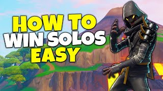 How To Win Solos EASY In Fortnite Season 8