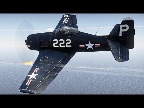 Палубный истребитель F8F-1B Bearcat. War Thunder