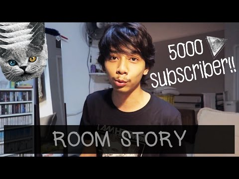 STORY OF MY ROOM/LAST ROOM TOUR - SPECIAL 5000 SUBSCRIBER