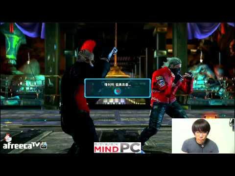 2014 06 18 Tekken TAG 2 Knees Stream 무프리카 Only Practice