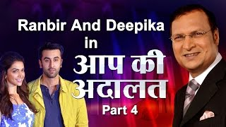 Ranbir Kapoor with Deepika Padukone in Aap Ki Adalat (Part 4) - India TV