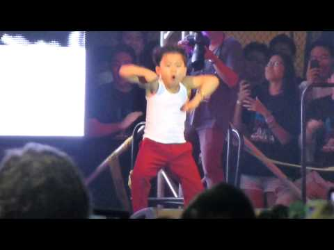 Little Psy - Gangnam Style at Los Angeles Korean Festival Foundation 10/5/12  Music Videos
