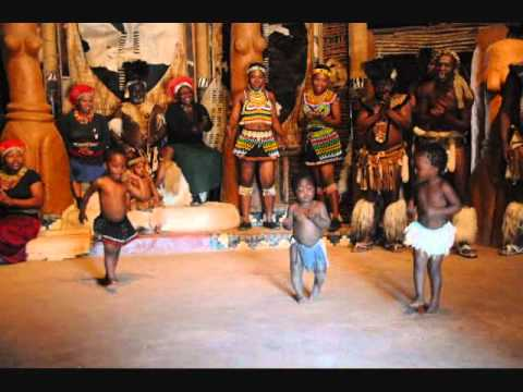 Amazing Zulu Dance Show in Shakaland, Kwazulu-Natal, South Africa