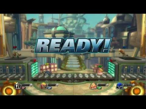 PlayStation All-Stars: Battle Royale Gameplay Demo