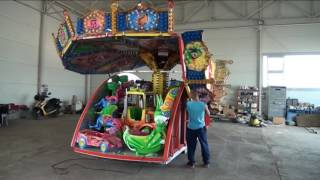 Children's Carousel - set up video