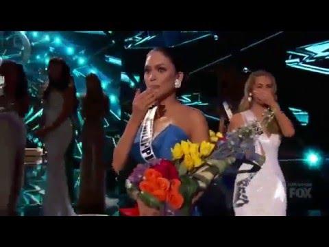 Скандал на Мисс Вселенная 2015