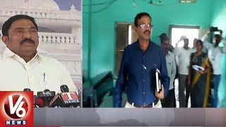 TDP MLA Sandra Venkata Veeraiah Reacts On SSC Paper Leakage | Hyderabad